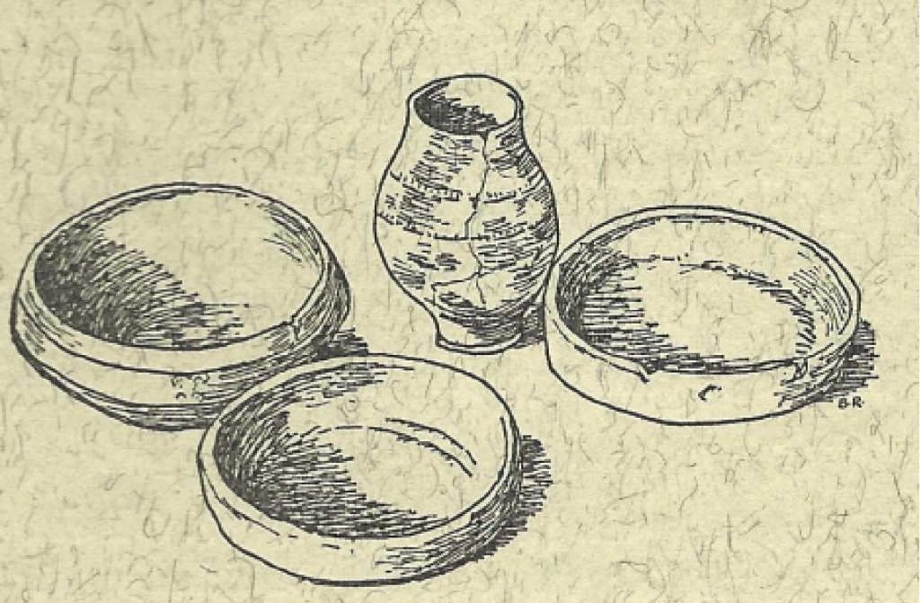 Potteries from a Germanic tomb near Kaisersruh