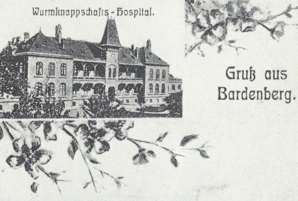 Wurmknappschafts-Hospital Knappschaftskrankenhaus (Hospital of the Wurm miners' assosiation)